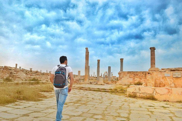 Libya Libyan Snapseed Archaeological Clouds And Sky This Is Libya <3<3  Libya Nature  Having Fun