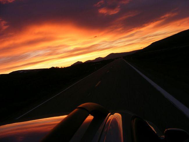 Midnight sun driving in Norway Nordland Taking Photos Hello World Hi! First Eyeem Photo Enjoying Life
