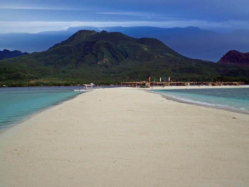 Beach Blue Camiguin Philippines Camiguin White Island Camiguinisland Coastline Majestic Mountain Sea Tranquil Scene Water