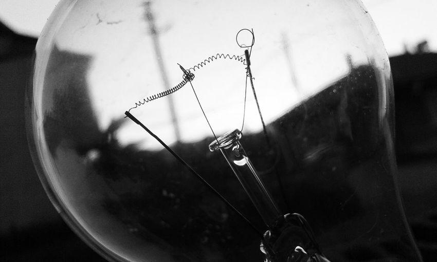 Ampul Blackandwhite Siyah & Beyaz VSCO Lamp