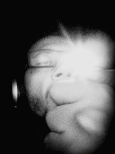 Smoking Listening To Music Another Dimension Feeling Good Relaxing Selfie Black And White Photography Retrica