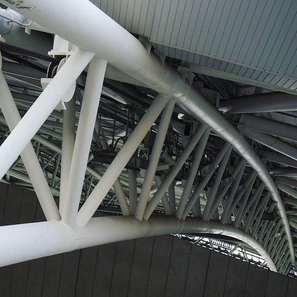 Japan KYUSHU Oita Studium Soccer Cool Architecture Artificial 大分 大分銀行ドーム
