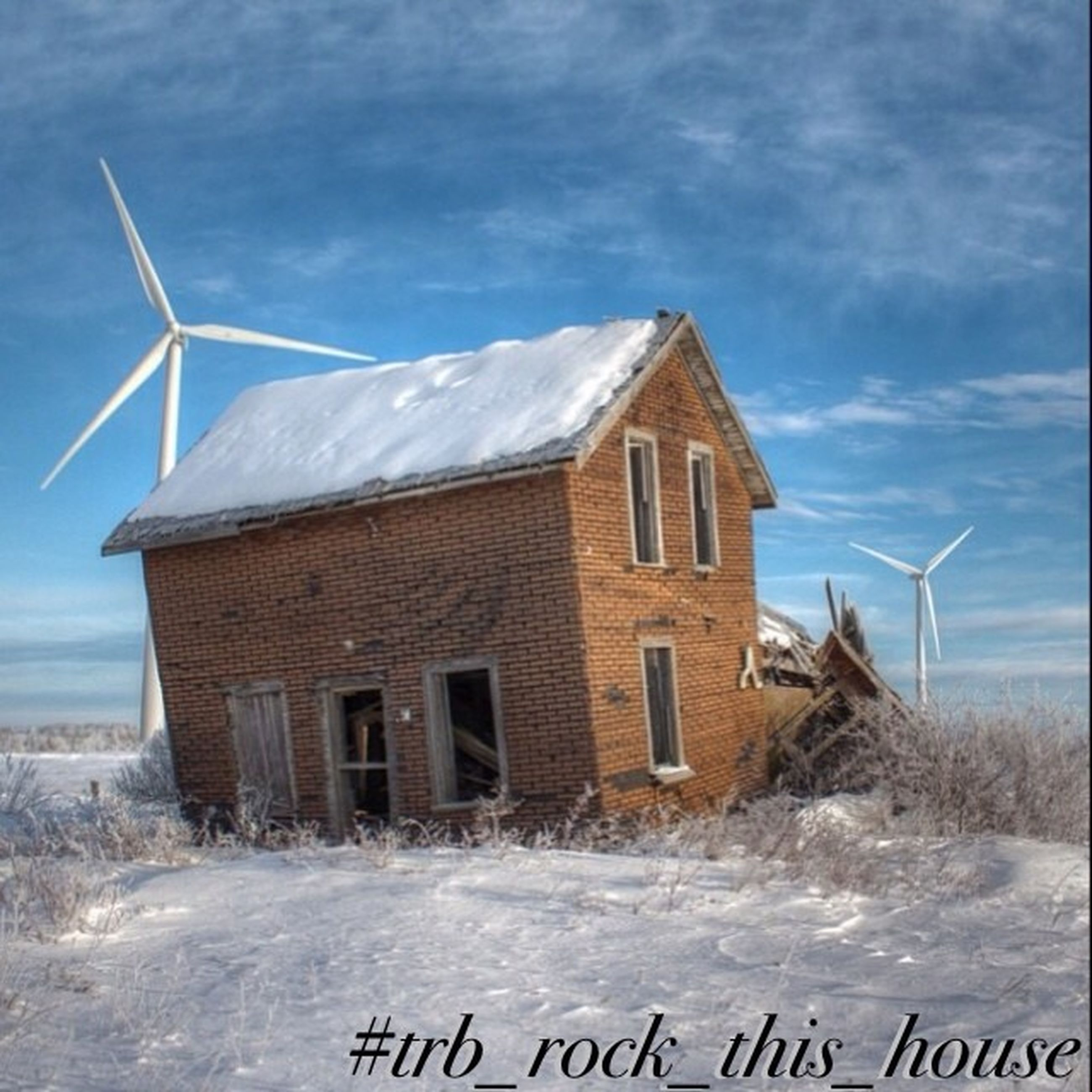snow, winter, cold temperature, sky, building exterior, built structure, architecture, weather, house, mountain, cloud - sky, season, nature, day, landscape, cloud, outdoors, no people, field, white color
