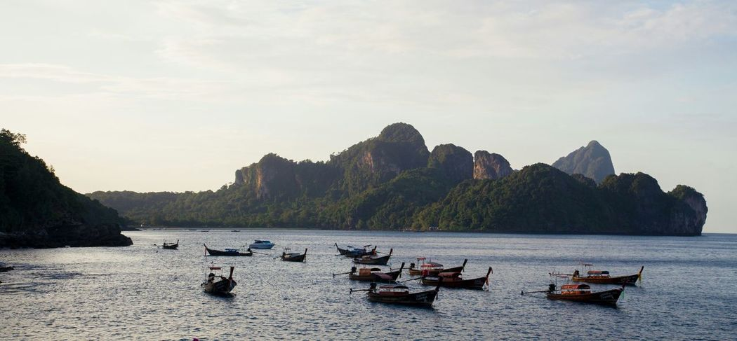 Travel Travel Destinations Tourism Pedal Boat Water Outdoors Landscape Sea Seascape Mountain Amazing Nature Thailand Thai PP Island