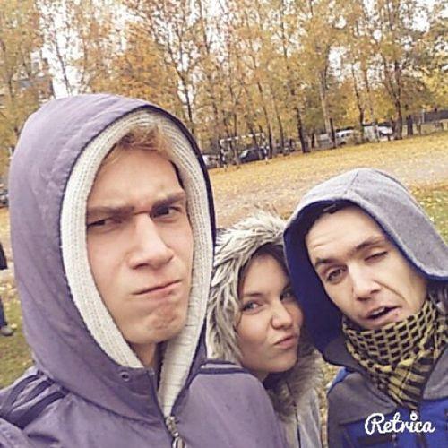 Пенсионеры были рады)) осень Haveaniceday милахи Cute crazy