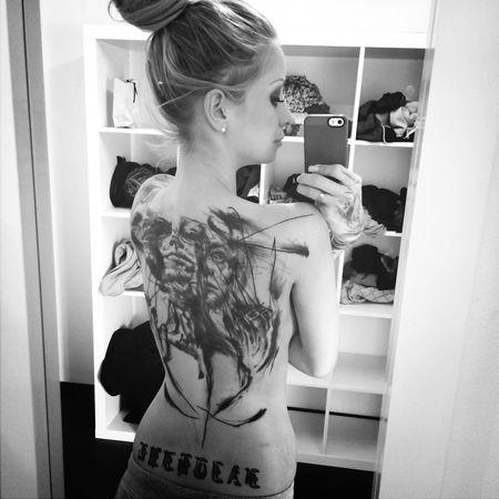 YES !!! Tattooedgirls Enjoy Life Hello World Blonde