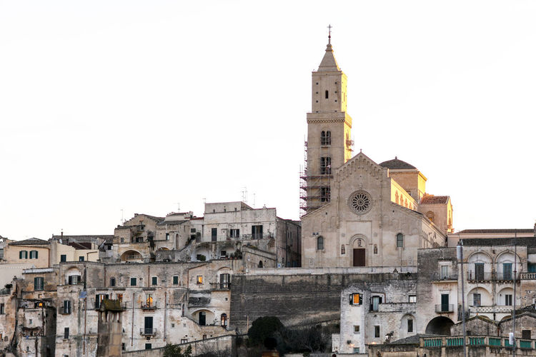 Matera Matera Matera Italy Matera2019 Matera - Capitale Della Cultura Matera View Italy Cultures City Cityscape cityscapes Sunrise Buildings Built Structure Copy Space Outdoors Tower Travel Destinations No People The Past Historical