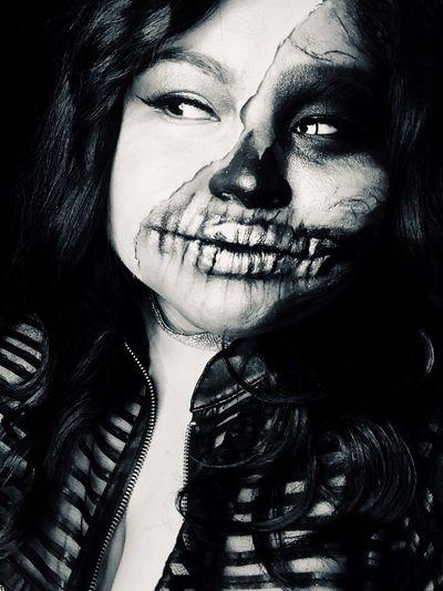 LivingDeadGirl Halloween Blackandwhite
