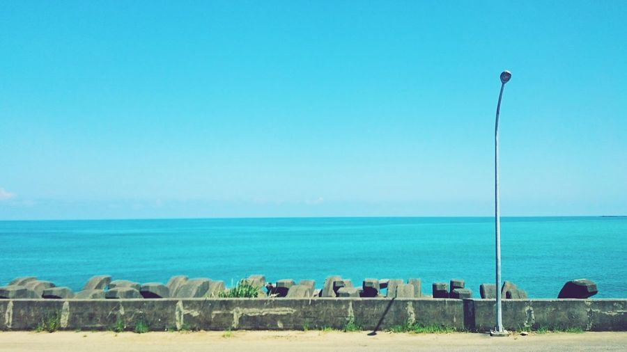 Broad Sky ,Blue Sea Ocean Pacific Ocean Taiwan Hotsummer Summer Secret Places