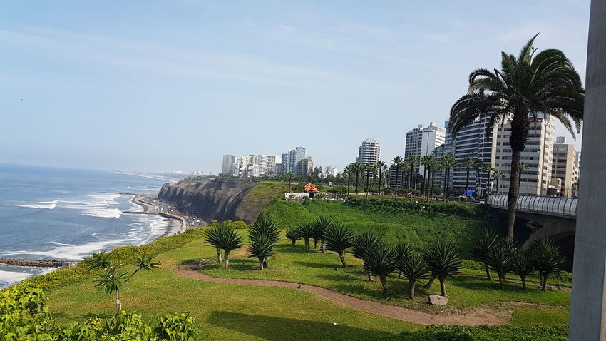 Nature Sea Outdoors Check This Out! Built Structure Architecture Beauty In Nature Tranquility Lima,Perú