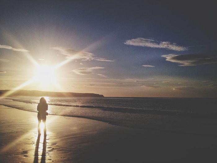Beach Sunset Coast Gimme The Light