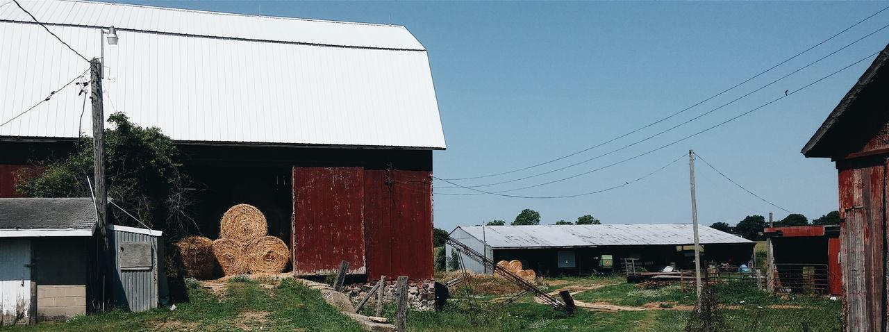 Hay Bales Barns Farm Life Farm Farm Equipment Brooklyn Michigan Showcase July