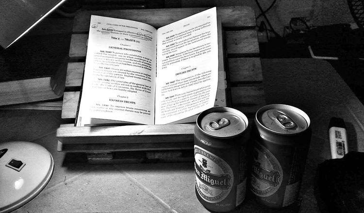 Road to lawyering Lawyer Roadtolawyering Studying Blackandwhite Fortheloveofblackandwhite Monochrome Monolife Inalcoholthereisfreedom Beer Pilipinas Philippines Manila Philippines Dormlife Dormliving