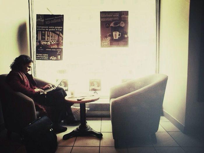 people at café People