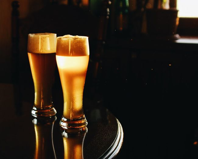 Two beers or not two beers Beer Glass Foodphotography Beverage