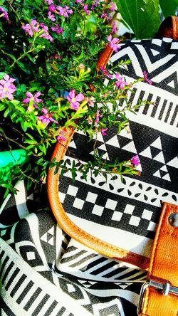 Nature Backpack Etnico Flower Geometry Naturaleza