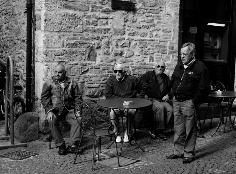 Brick Wall Full Length Sitting Men Only Men Real People Adult Chair People Old Men Sunglasses Naturally Cool Blackandwhite Cafe People And Places Bar The Street Photographer - 2017 EyeEm Awards EyeEmNewHere