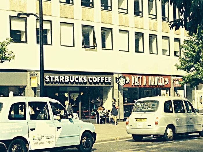 Starbuks London 2014