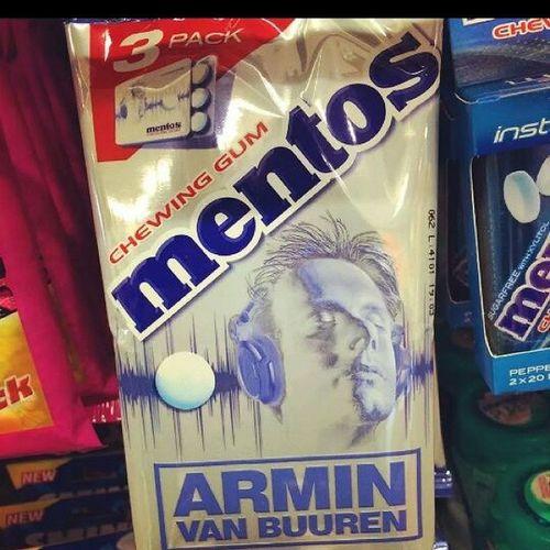 The only mentos that can cool me down. AvB Arminvanbuuren