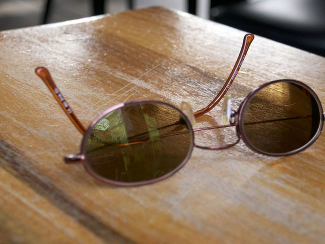 Clear Vision  Close-up Day High Angle View Indoors  No People Shades Sunglasses Table