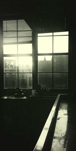 Photo Lab. Photography Windows Black & White