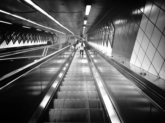 Vanishing Point Subway The Traveler - 2015 EyeEm Awards
