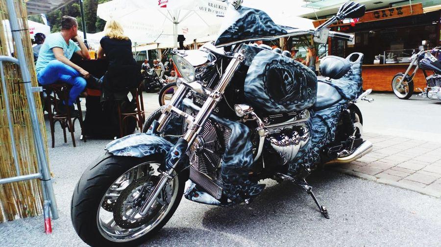 Bike🏍📸 Festival Boss Hoss V8 Bike Austria
