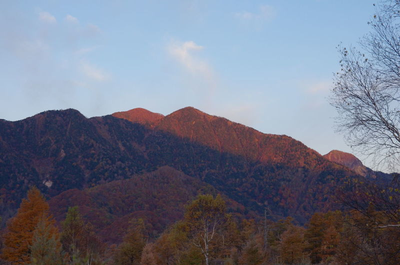 戦場ヶ原にて Nature Sunset Mountain Beauty In Nature Autumn No People Sky 戦場ヶ原 Nature 自然 風景 旅行 Traveling 日光