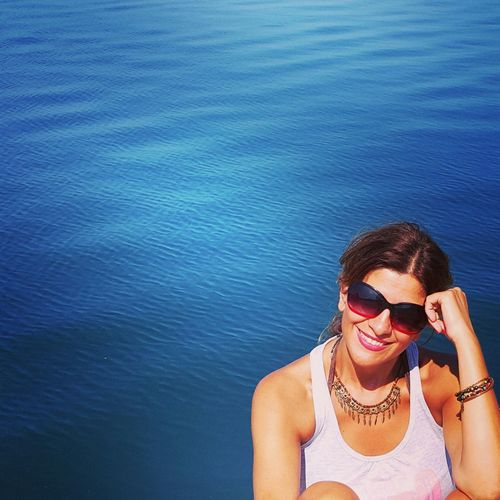 Blue Relaxing Sea That's Me My Portrait Kabatepe Limanı Kabatepe Mybestphoto2015 My Best Photo 2015 EyeEm Best Shots My Photography Mypic