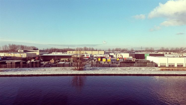 My first snow in Delft From My Window Factory Winter Open Edit