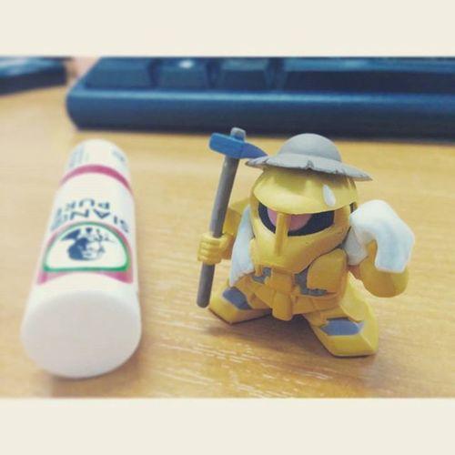 Wednesday Morning.... Gundam Zaku Gachapon Toy Toyphotography Siangpure