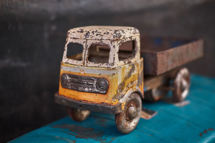 Old rusty toy