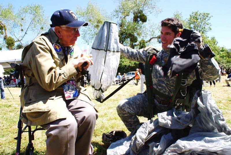 Paratroopers Airborne Veteran Airborne All The Way