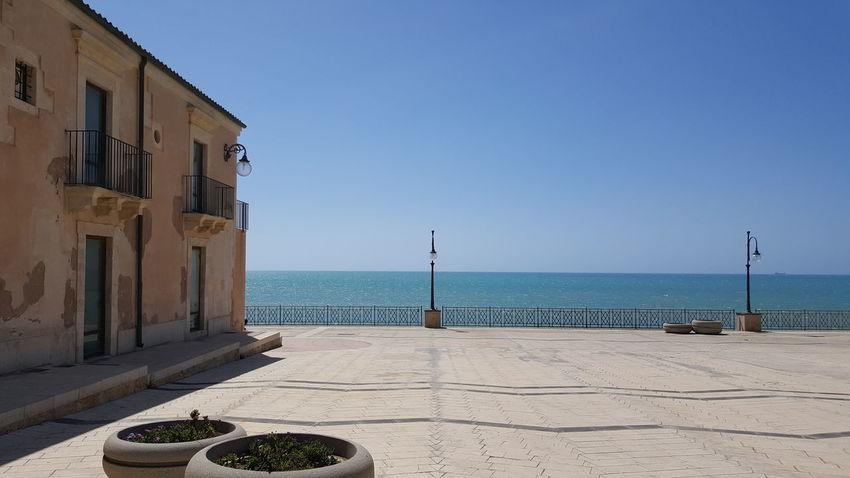 Pozzallo Sicily Sicilia Sea Summer Sky Sea And Sky Hanging Out Chill Chillout Sunshine Day Blue Blue Sky Blue Sea Blue Water