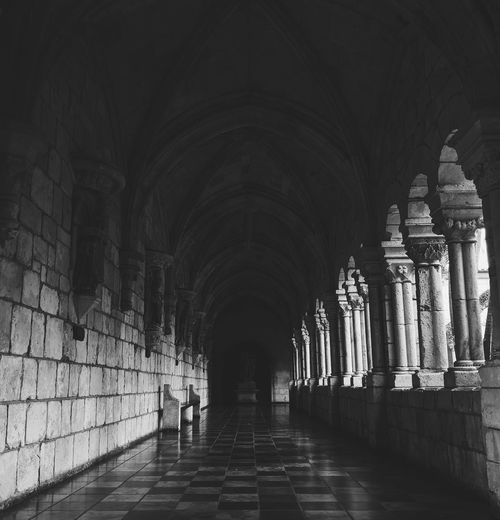 Ancient Monastery Spanish Spanish Arquitecture City Ancient Civilization Ancient Old Ruin History Arch Corridor Architecture Built Structure Passageway First Eyeem Photo