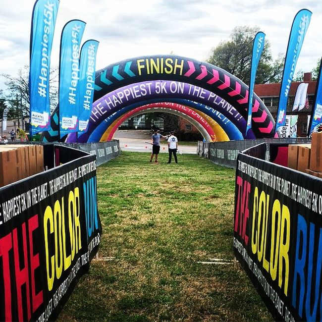 Say hi to me at the finish line😄 Goodluck Thecolorrun 2K15