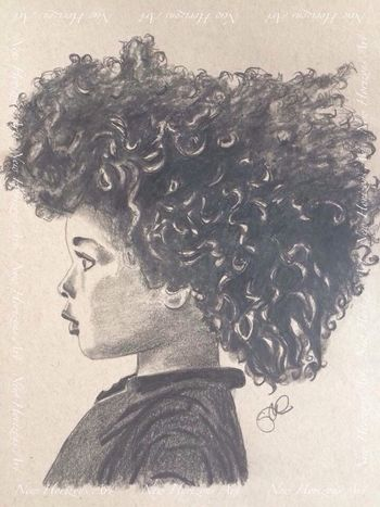 My first afro drawing Portrait Afro Myartwork Art #illustration #drawing #draw #tagsforlikes #picture #photography #artist #sketch #sketchbook #paper #pen #pencil #artsy #in