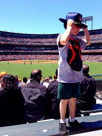 Beautiful day and an awesome game! SF Giants Fromwhereistand Color Photography Claudiasmoments