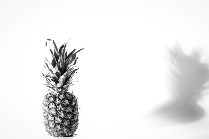 Pineapple🍍 Pineaple  Close-up Indoors  Nature Plant White Background No People Studio Studio Shot Studio Photography