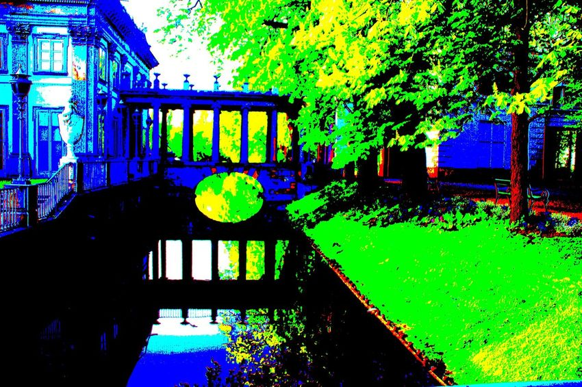 Water No People Green Color Architecture #kontrast #Contrast #photography #palace #water #bridge #trees #commentmyphoto #likemyphoto #FollowMe