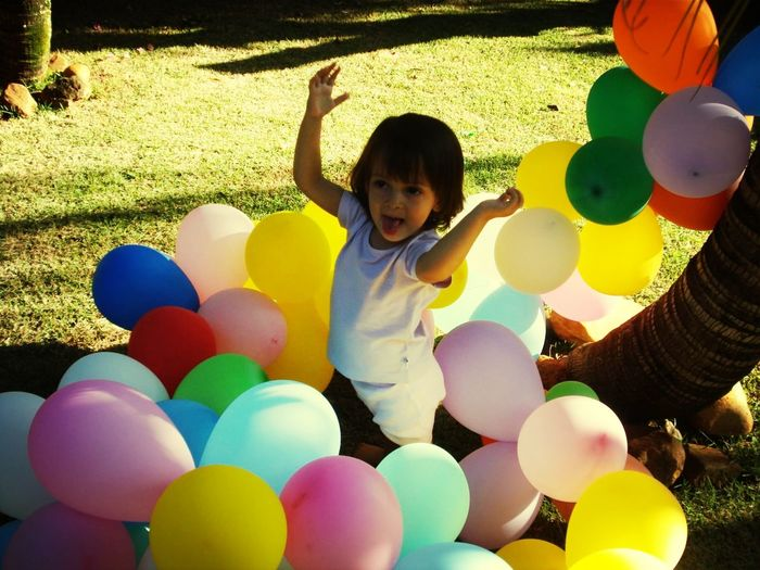 Balloons Colors Enjoying Life