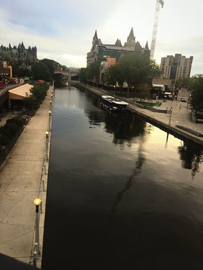 Water Rideau Canal in Ottawa Sky City Day ParliamentHill Gorgeous ♥ Nature Life