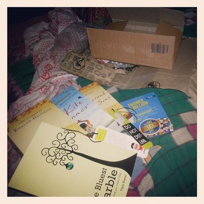 This is happiness. The smell, the journey, the intensity, the magic. ♥ Books