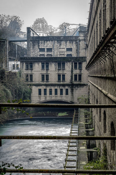 Architecture Building Exterior Built Structure Centrale Idroelettrica Taccani Enel Façade Government Hydroelectric Power Plant Water