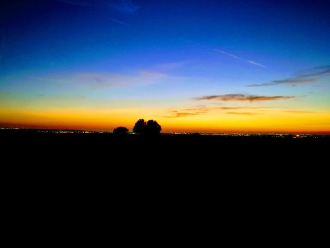 Sunset Silhouette Tree Scenics Nature Beauty In Nature Landscape Tranquil Scene Sky No People Tranquility Outdoors Day
