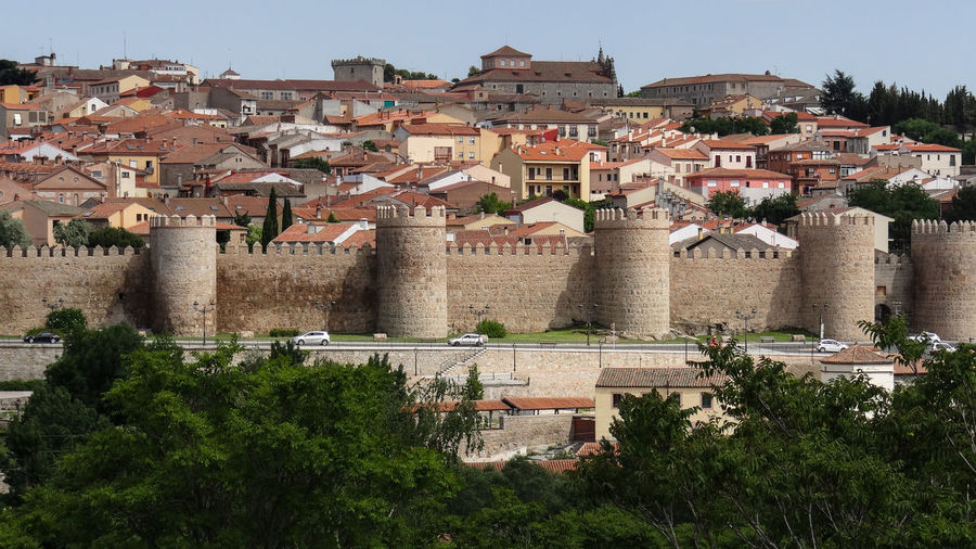 ezefer Architecture Built Structure Building Exterior Building City Tree Residential District Plant Nature Old History House Town The Past Travel Day No People Roof Outdoors Tourism TOWNSCAPE Ancient Civilization Location Avila Avila, Spain