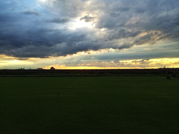 台風一過。ゲリラ豪雨な所も。 IPhoneography Clouds And Sky Sunset