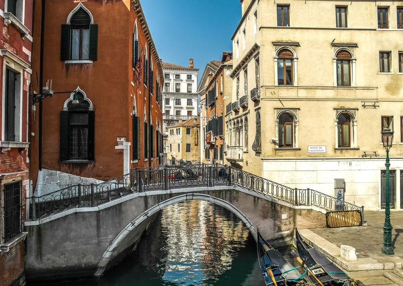 Venice - March 2015 Bridge Europe Italy Venice Architecture Built Structure Building Exterior Bridge - Man Made Structure Canal Arch Day Outdoors Water City No People