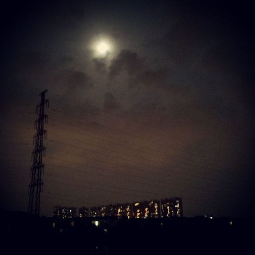 月黑风高杀人夜,,, Guangzhou Canton 广州 番禺 祈福新邨 海晴居