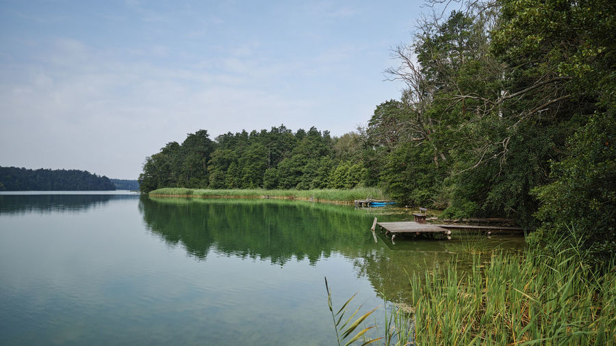 masurian lakes Beauty In Nature Day Lake No People Outdoors Tranquil Scene Tranquility Water